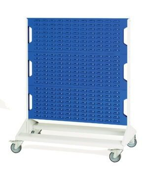 Double Sided Louvre Panel Trolley