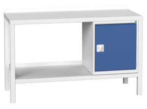 Welded Bench With Cupboard