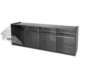 Clear Tilt Storage Box