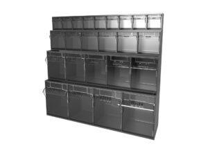 Clear Tilt Storage Box Kit