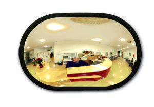 Wall Mounted Convex Mirror
