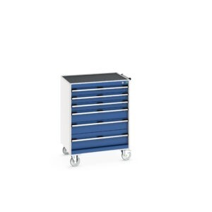 Mobile 6 Drawer Cabinet