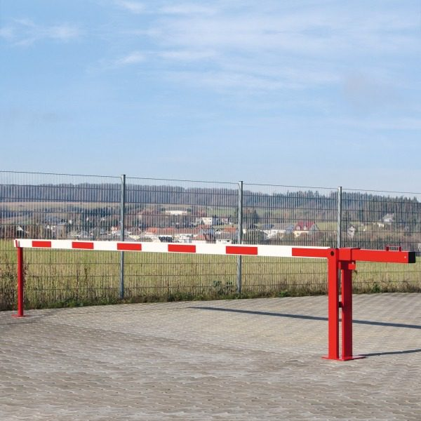 Counterweight Boom Barriers with Fixed Support Post