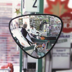 Triangular Observation Mirror
