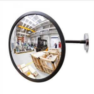 DETECTIVE Convex Mirror with Magnetic Fixing