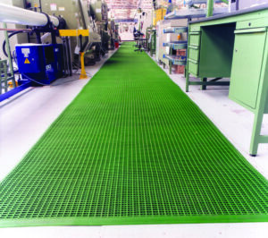 COBAmat Edge for Workplace Matting