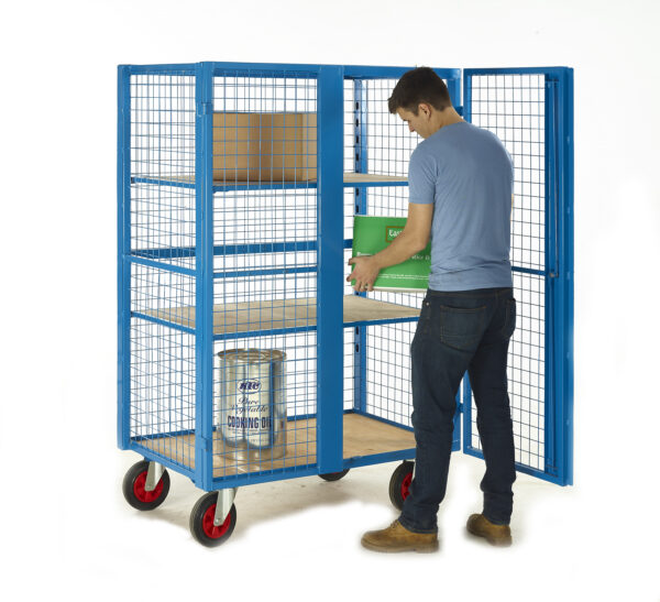 Security Distribution Cage