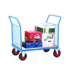 Platform Truck with Double Mesh End