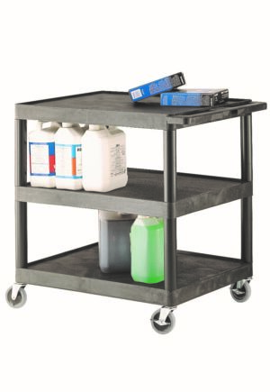 Multi-Purpose 3 Shelf Trolley