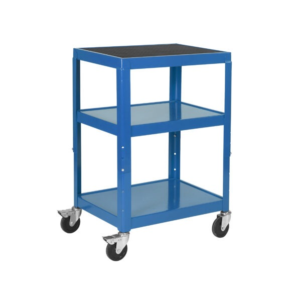 adjustable height trolley