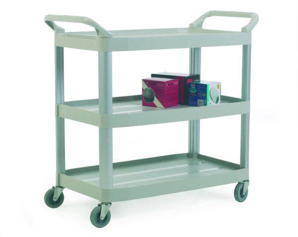 Plastic Shelf Trolleys