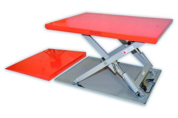 static lift table