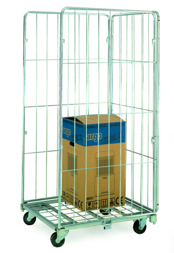 Three Sided Demountable Roll Containers