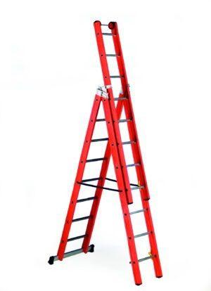 Glass Fibre 3 Way Combination Ladder