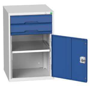 Drawer and Cupboard Combination Cabinet