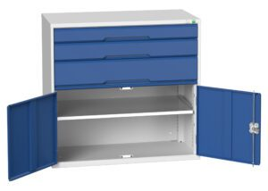 3 Drawer and Cupboard Combination