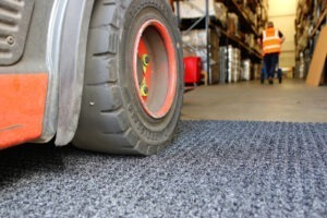 forklift truck matting