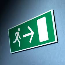Fire Exit and Evacuation Signs