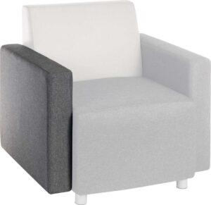 Cube Interchangeable Armrest