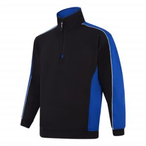 Two Tone 1/4 Zip Sweatshirt