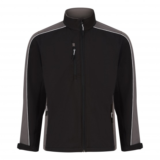 Avocet Two Tone Softshell Jacket - Water Resistant Jacket