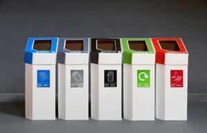 Cardboard Recycling Bins