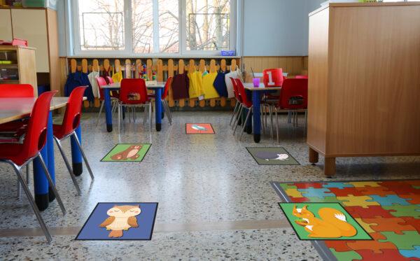 Scatter Mats for Schools