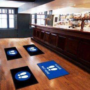 Social Distancing Floor Mats