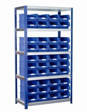 Shelf Rack and TC4 Barton Bins Kits