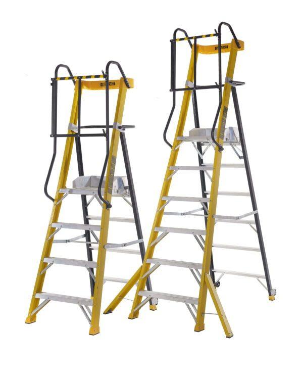 Climb-It Glass Fibre Podium Steps