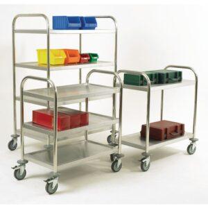 Stainless Steel Shelf Trolleys
