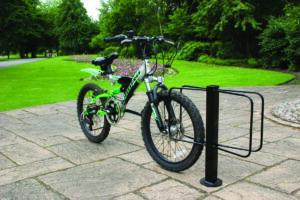 Floor Mounted Bike Rack