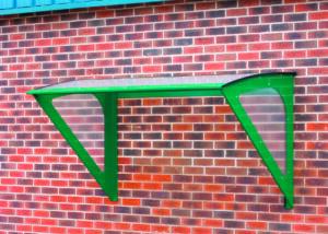 Wall Mounted Smoking Canopy