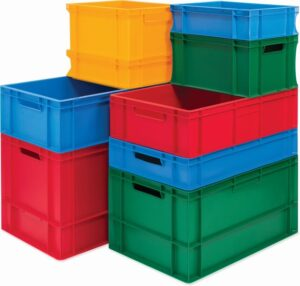 Colour Euro Containers