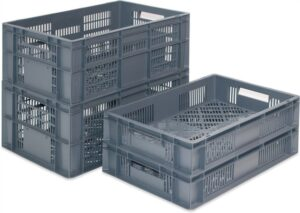 Vented Euro Containers