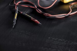 Ribbed Rubber Electrical IEC Mat