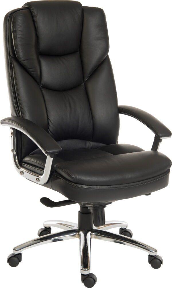 Leather Faced Executive Armchair