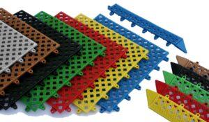 Interlocking Duckboard Tiles