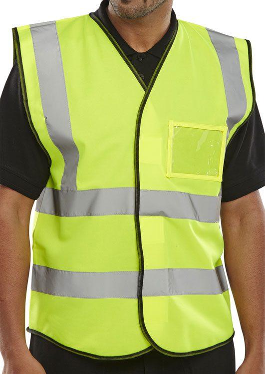Hi Visibility ID Vest