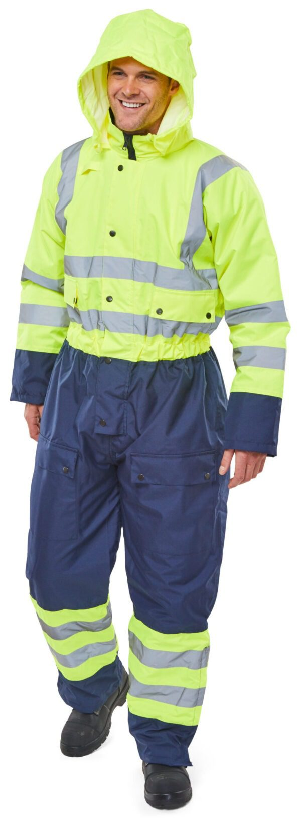 Hi Visibility Thermal Waterproof Coverall