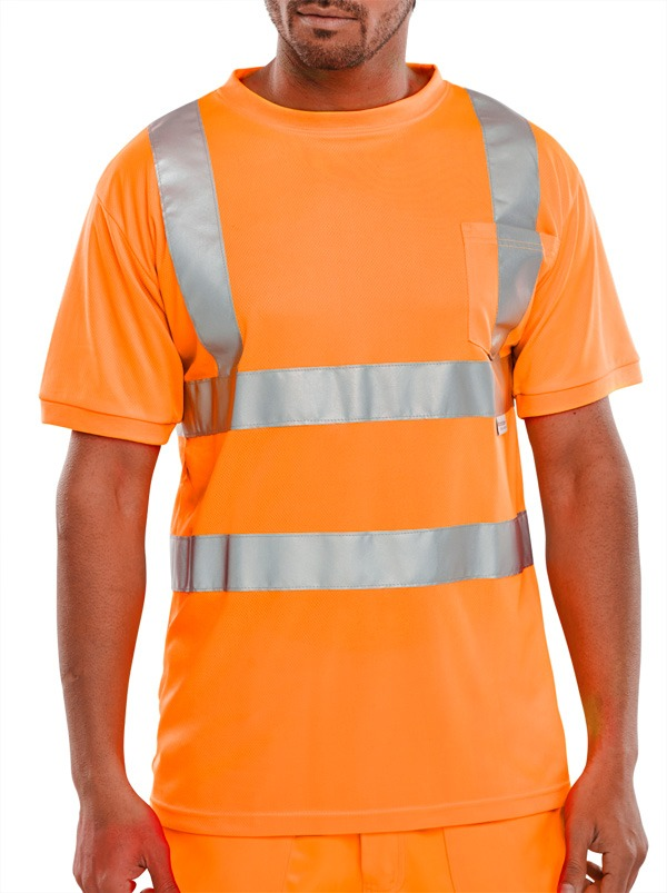 Hi Visibility Crew Neck T-Shirt