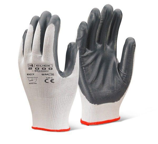Nitrile P/C Polyester Glove