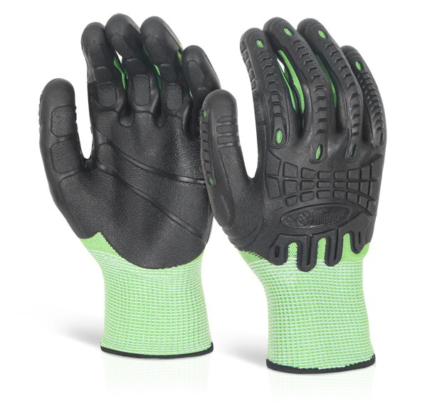 Cut Resistant Fully Coated Impact Glove