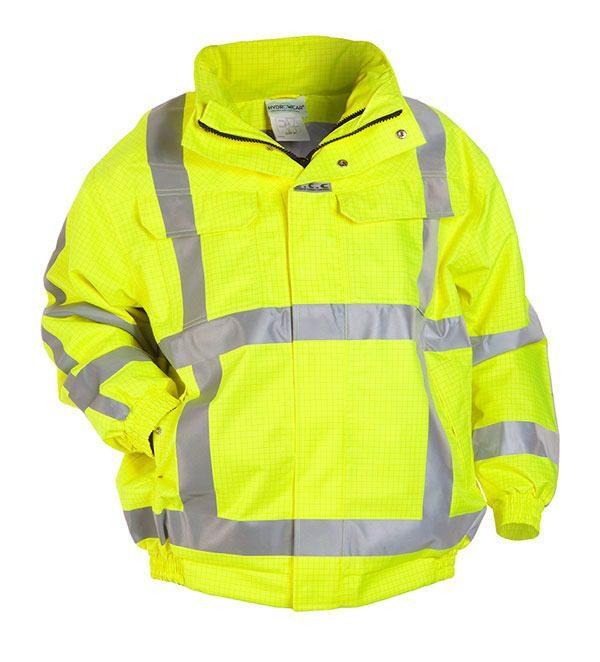 Anti-Static Hi Visibility Waterproof Pilot Jacket