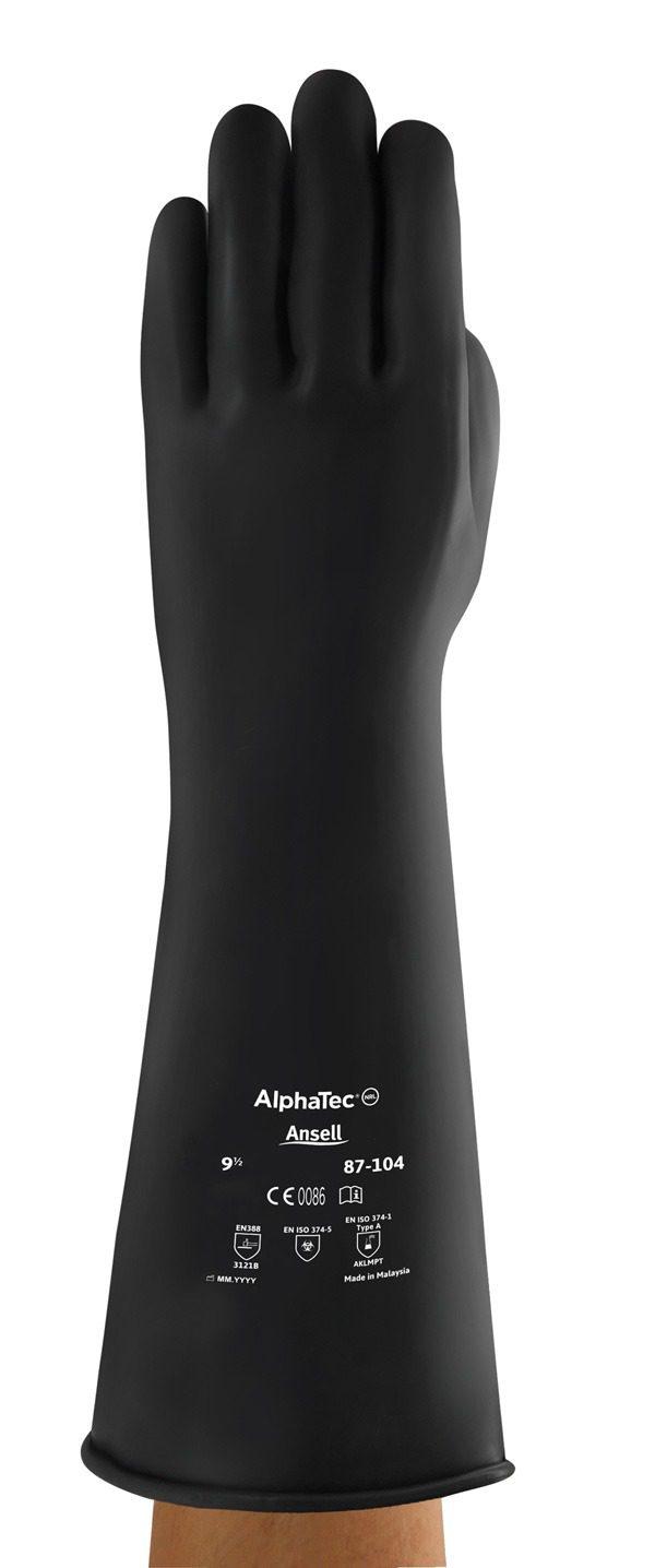 Medium Weight 17 Inch Gauntlet Glove