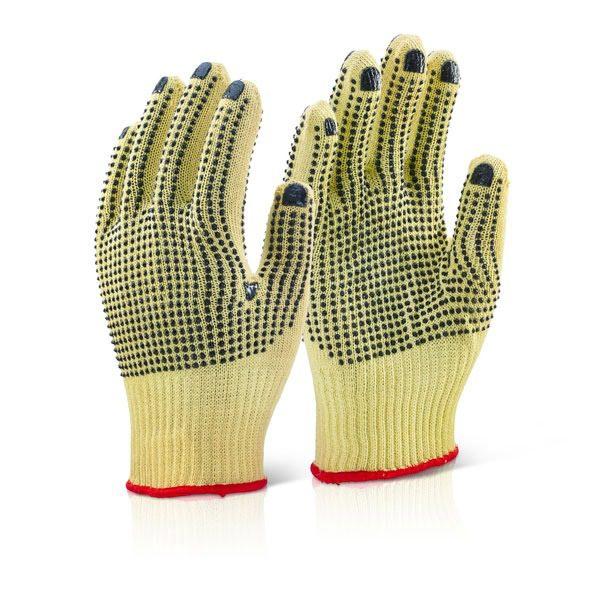 Reinforced Medium Weight Dotted Glove