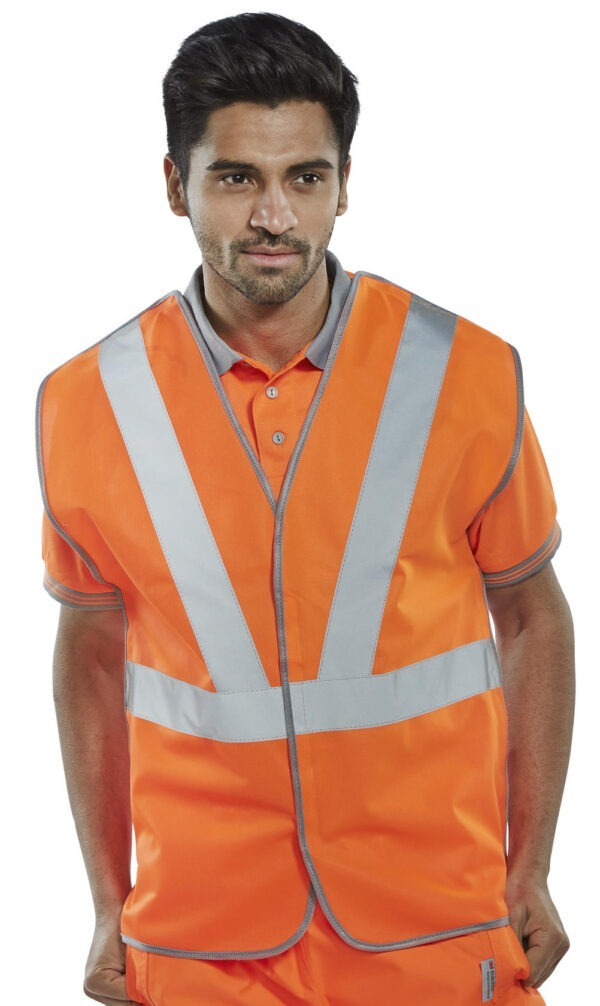 Hi Visibility Rail Spec Vest