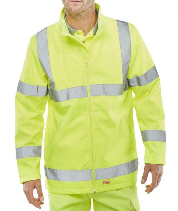 Soft Shell Jacket Hi Visibility Garment