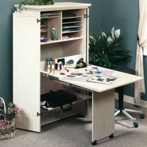 Hideaway Office/Craft Station