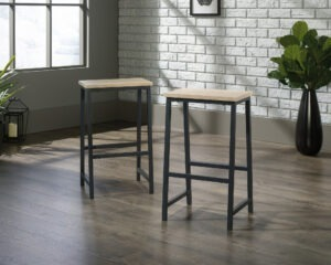 Industrial Style High Stool